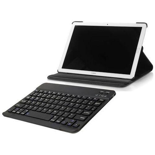 Etui 360 Huawei MediaPad M5 10.8/ M5 Pro Czarne + Klawiatura, kolor czarny