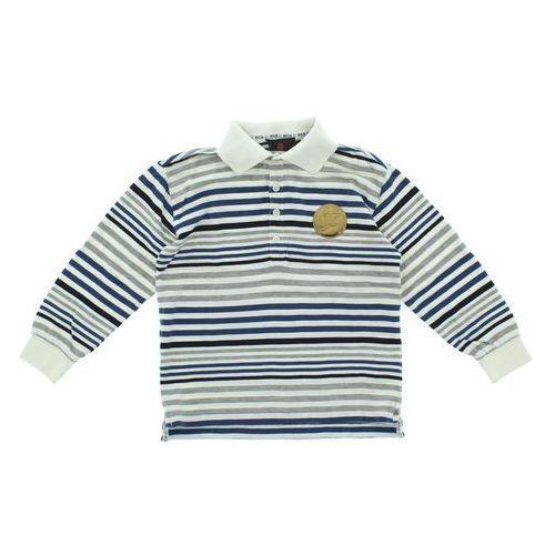 John Richmond Polo T-shirt dziecięcy Niebieski Biały Szary 7 lat