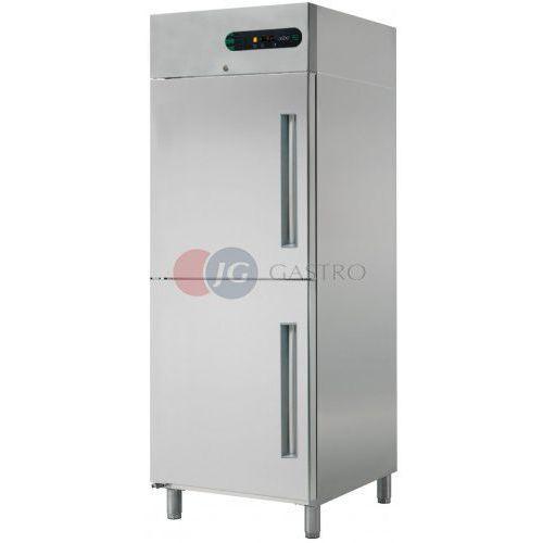 Szafa chłodnicza 2x1/2 drzwi 700 l ecp-g-702 r wyprodukowany przez Asber