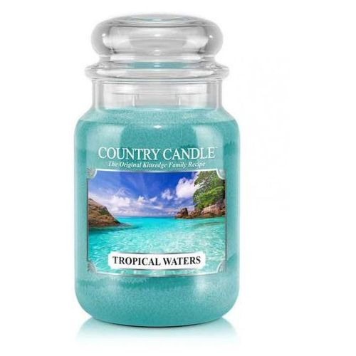 COUNTRY CANDLE ŚWIECA TROPICAL WATERS 652G, 846853054803