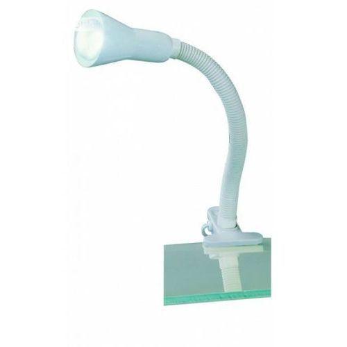 Trio 5028 lampa z klipsem biały, 1-punktowy - nowoczesny/dworek - obszar wewnętrzny - flexo - czas dostawy: od 2-3 tygodni
