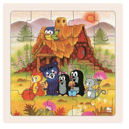 Bino Puzzle Pani Krecik i przyjaciele, 20 części