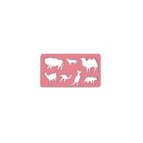 Szablon dzikie zwierzęta mały -  marki Koh-i-noor