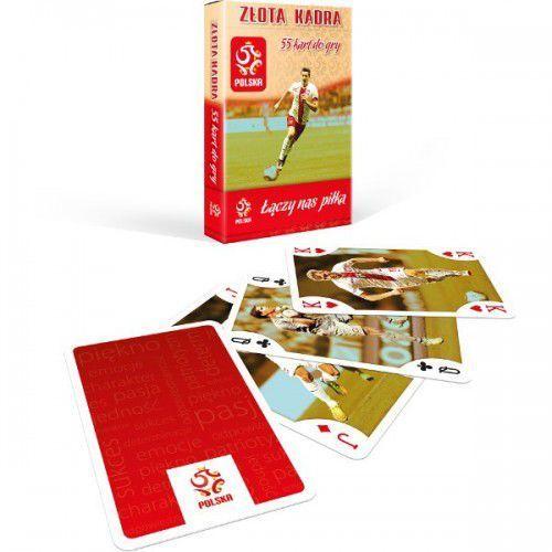 Pzpn złota kadra talia 55 kart marki Cartamundi