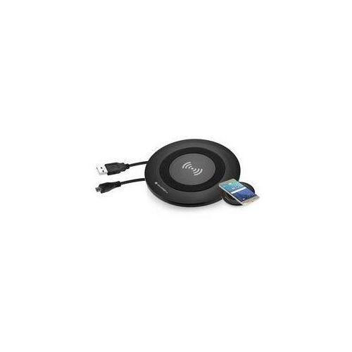 Gogen Zestaw do ładowania bezprzewodowego  wch 01 c + microusb kabel 2 m (wch01c) czarna