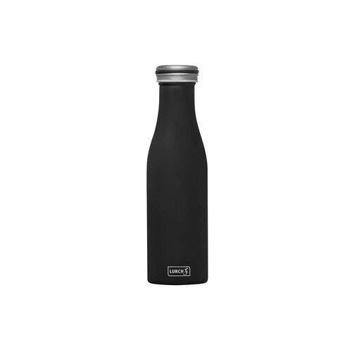 - butelka termiczna, 0,50 l, czarna - czarny marki Lurch