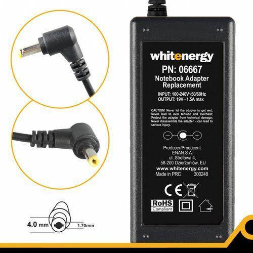 Whitenergy Zasilacz 19V 1.58A wtyczka 4.0 x 1.7 mm, 06667