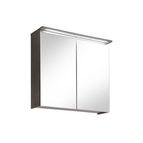 Szafka z lustrem 80, oświetlenie LED kolekcja Cosmo Comad