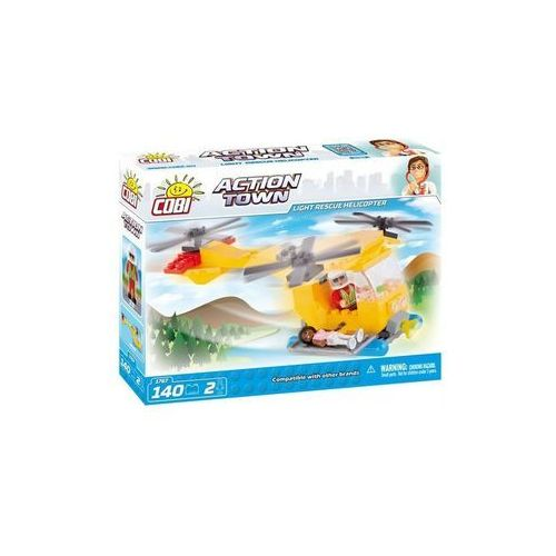 COBI Action Town helikopter ratunkowy