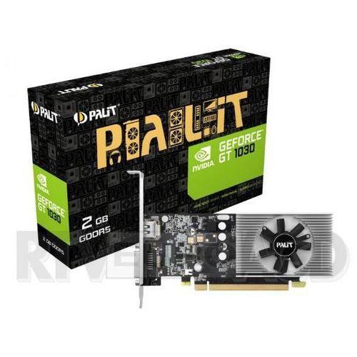 Karta graficzna Palit GT 1030 2GB 64BIT GDDR5 FAN HDMI/DVI - NE5103000646F - NE5103000646F Darmowy odbiór w 21 miastach!, NE5103000646F
