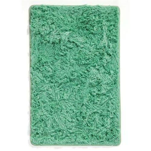 Dywaniki łazienkowe ze sztucznym futerkiem bonprix zielony