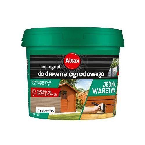 - impregnat do drewna ogrodowego, piaskowiec, 5 l (i) marki Altax