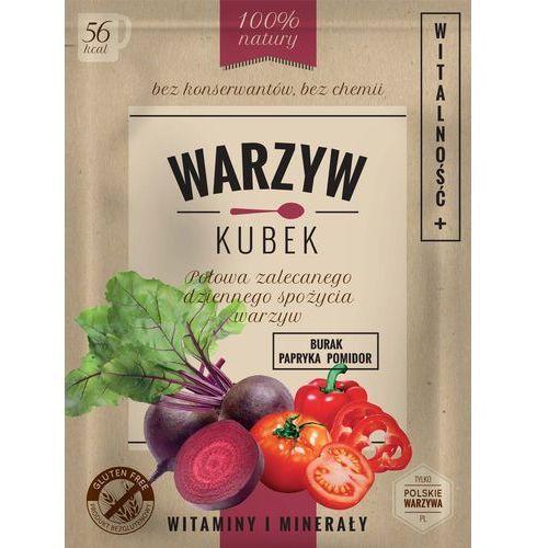 Warzyw Kubek Burak/Papryka/Pomidor - WITALNOŚĆ saszetka 16g.