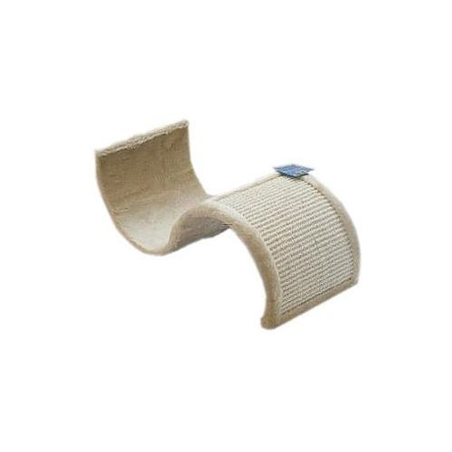 Yarro drapak dla kota fala pozioma, 50x20cm, beżowy (5901436111207)