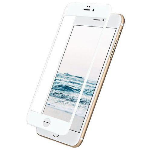 Szkło hartowane tempered glass 5d do iphone 7 plus/8 plus biały + zamów z dostawą jutro! marki Global technology