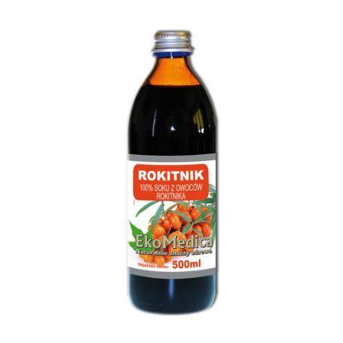 Eka Medica Rokitnik 100% czystego soku z rokitnika 500ml, EKOMEDICA