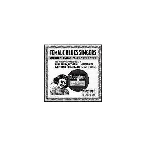 Female Blues Singers. . .