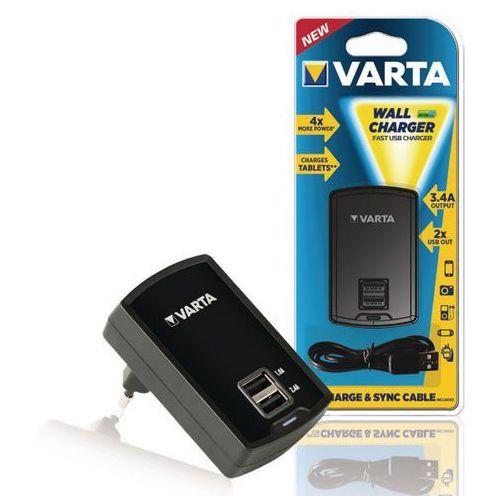 ładowarka sieciowa VARTA Wall Charger 2 x USB 3400mA 57957