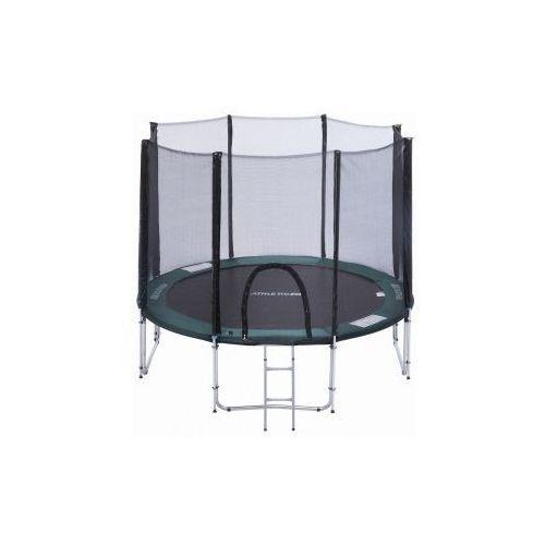 305 cm - trampolina ogrodowa z siatką zabezpieczającą + drabinka marki Athletic24