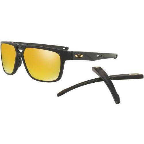 Oakley crossrange patch okulary rowerowe żółty/czarny 2018 okulary przeciwsłoneczne (0888392294487)