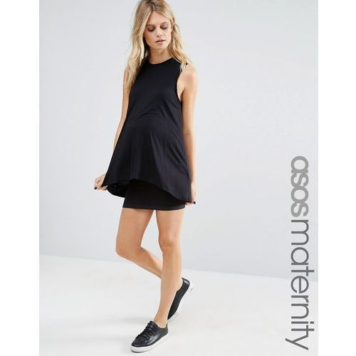 Mamalicious seamless tube mini skirt - black, Mama.licious, 38-40
