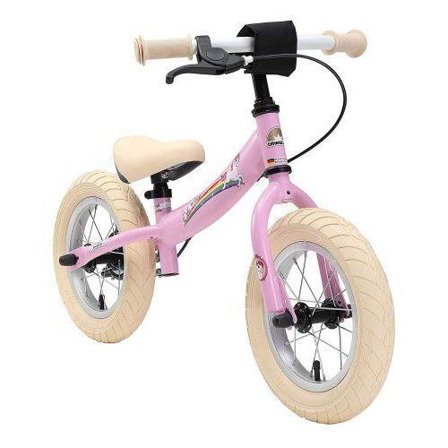 """Rowerek biegowy 12"""" xl germany sport kolor różowy jednorożec marki Bikestar"""