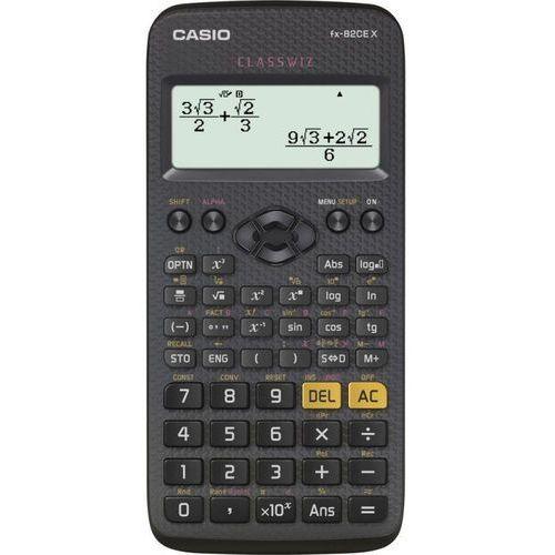 Kalkulator Casio, FX 82 CE X, czarna, szkolny + słuchawki w prezencie (4549526602016)