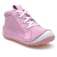Botki dziecięce profilaktyczne renbut 13-1513 różowe kropki marki Ren but