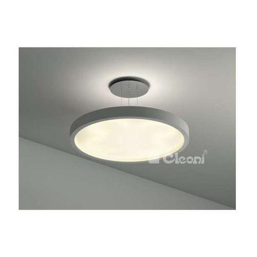 LAMPA wisząca OMEGA 500 ZW103g 1171W5A Cleoni gipsowa OPRAWA zwis okrągły biały - sprawdź w wybranym sklepie