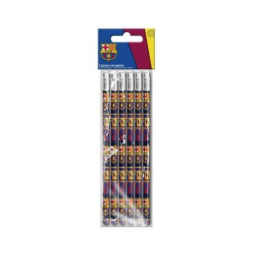 Cyp brands Zestaw ołówków 6 szt. fc barcelona