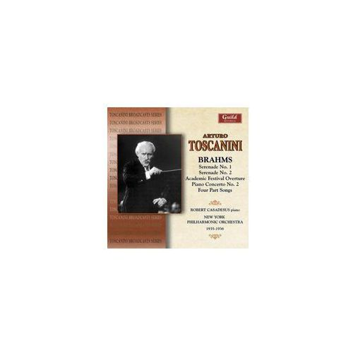 Guild Brahms: serenade no. 1 & 2 (0795754233827)