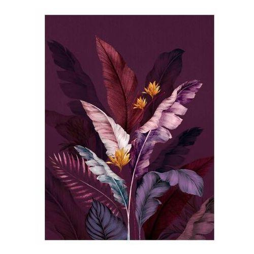 Obraz Canvas Botanic Violet 60 x 80 cm