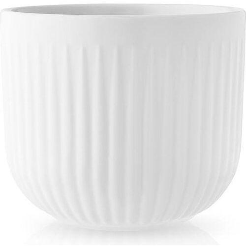 Doniczka Legio Nova 13 cm, porcelana, biała - Eva Solo (5706631189613)