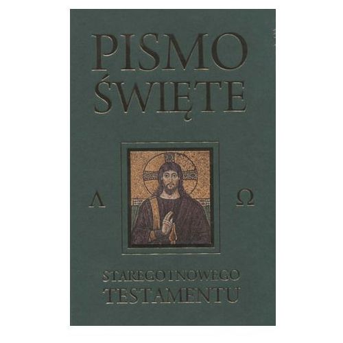 Pismo Święte Starego i Nowego Testamentu - Kazimierz Romaniuk, oprawa twarda