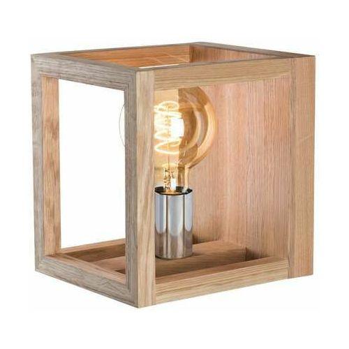 Spot light kago 9150174 kinkiet lampa ścienna 1x40w e14 drewno (5905840200380)