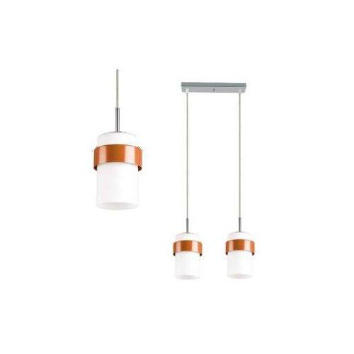 Lampa wisząca miele lp-866/2p po oprawa zwis tuby białe pomarańczowe marki Light prestige