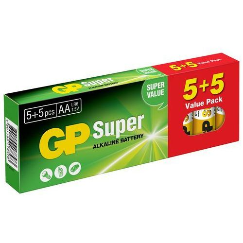 Gp battery Bateria super alkaline lr6/aa (10 szt.)