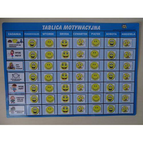 Bystra sowa Magnetyczna tablica motywacyjna wesołe buźki