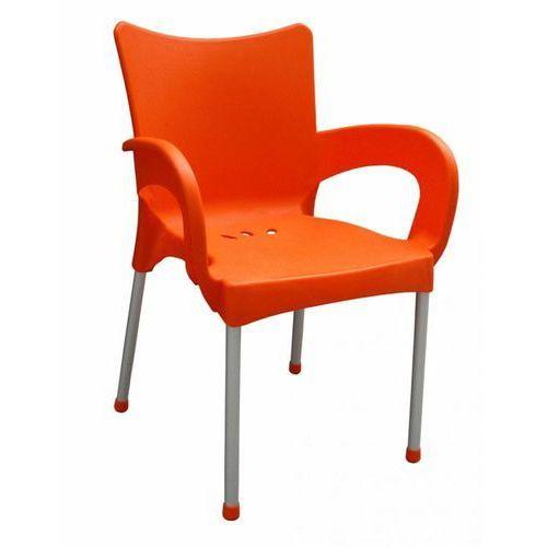 Mega plast krzesło smart mp1273, pomarańczowe