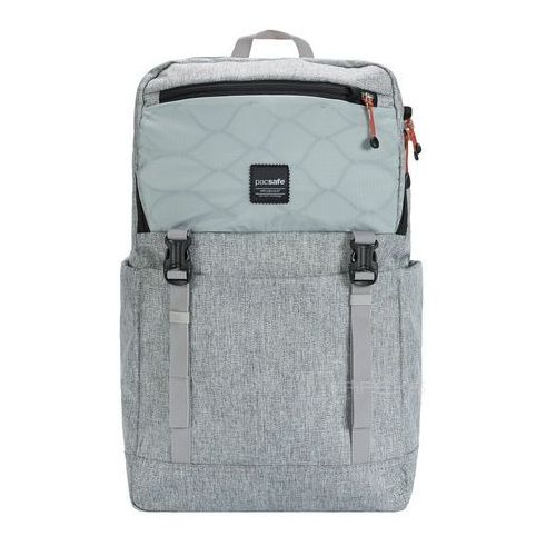 "Pacsafe Slingsafe LX500 plecak miejski na laptop 15"" RFID / Tweed Grey - Tweed Grey"