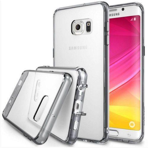 Obudowa Rearth | Etui Ringke Fusion Case + Folia ochronna | Samsung Galaxy S6 Edge Plus | kolor Smoke Black - Smoke Black