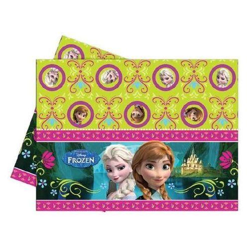 Obrus urodzinowy Frozen - Kraina Lodu - 120 x 180 cm - 1 szt. z kategorii Dekoracje i ozdoby dla dzieci