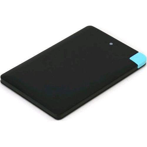 Powerbank Omega BLACK CREDIT CARD 2000mAh (43519) Darmowy odbiór w 20 miastach!, OMPB20CCBML
