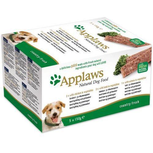 Applaws  natural dog mix pate smaków multi-pack 5x150g