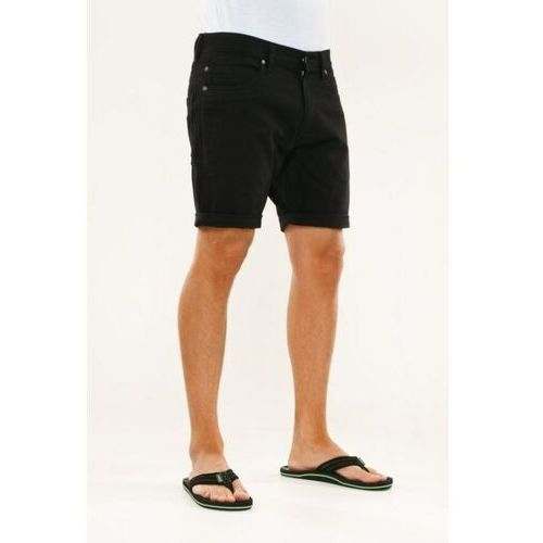szorty REELL - Palm Short Black Black (BLACK)