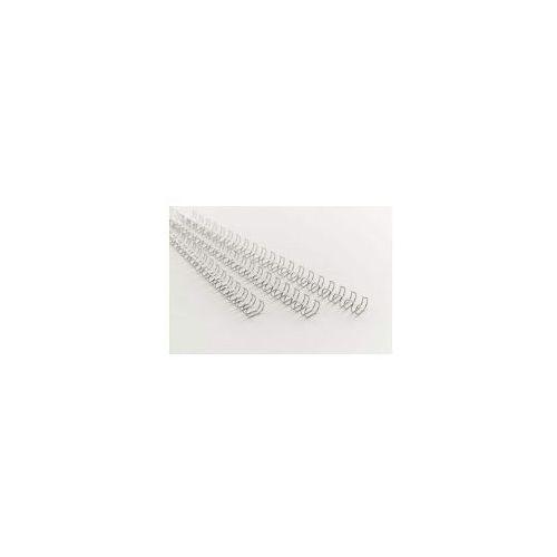 Grzbiety drutowe 21 zwojowe 8mm srebrne. Najniższe ceny, najlepsze promocje w sklepach, opinie.