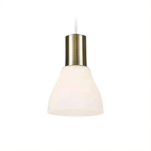 Markslojd Vero 107512 Lampa wisząca zwis oprawa 1x40W E14 biała/patyna