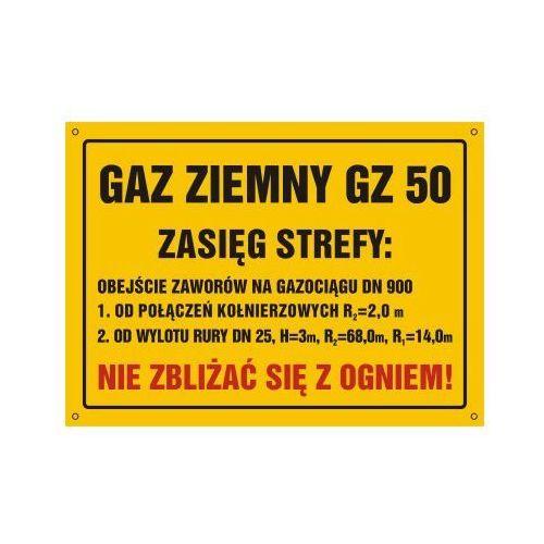 Gaz ziemny gz-50. zasięg strefy: obejscie zaworów na gazociągu dn 900 od producenta Top design