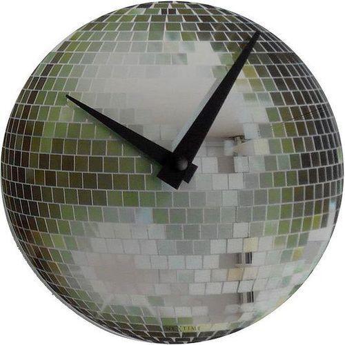 Zegar Ścienny 8801 Small Disco śr. 30 cm Nextime (8717713004622)