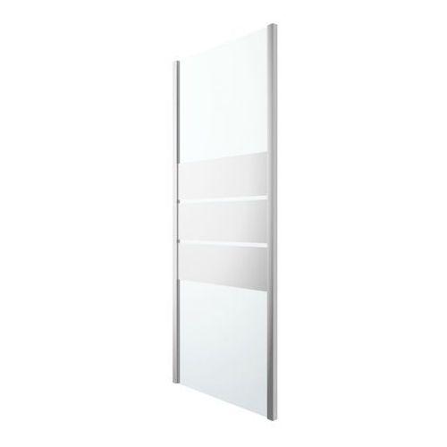 Ścianka prysznicowa GoodHome Beloya 90 cm chrom/szkło lustrzane, DKR90XD